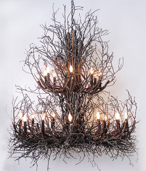 branchelier twig chandelier Phillips Wish Designs