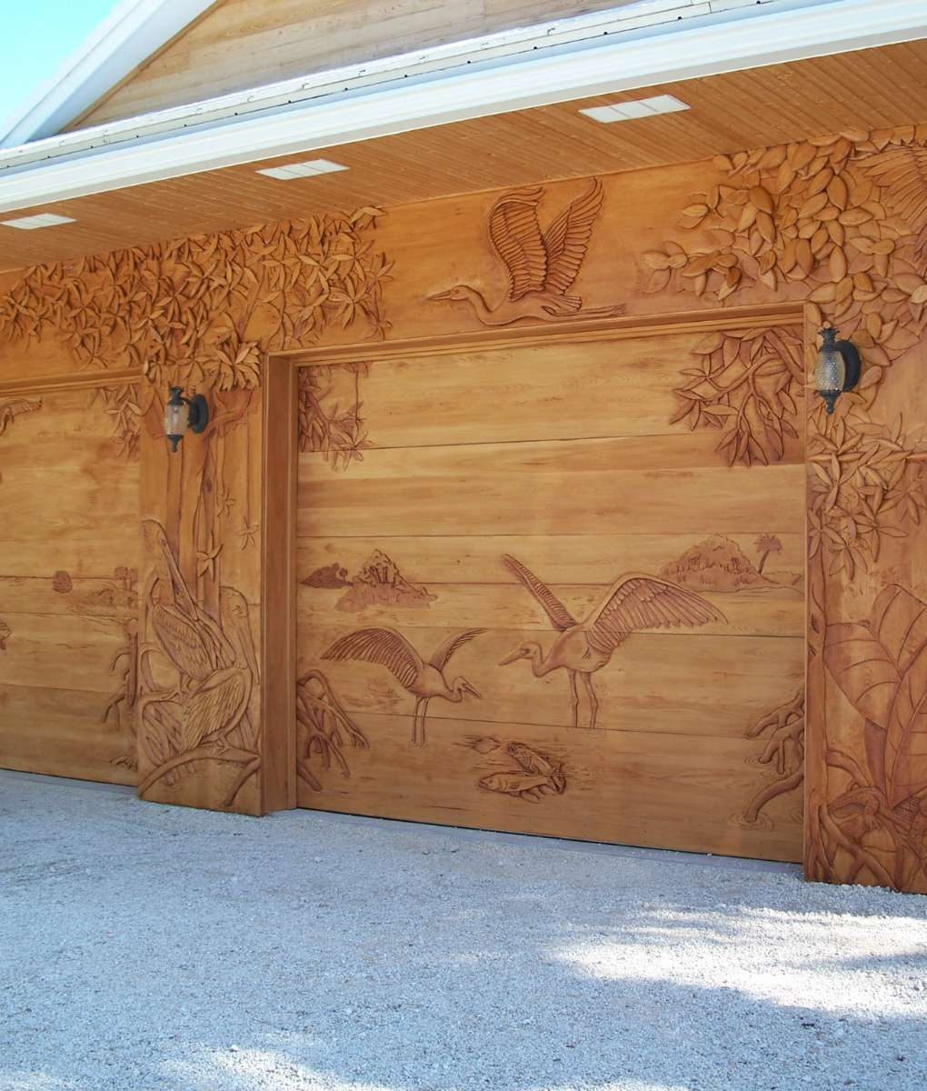 Carved Wood Entry Doors Garage Doors Wall Panels