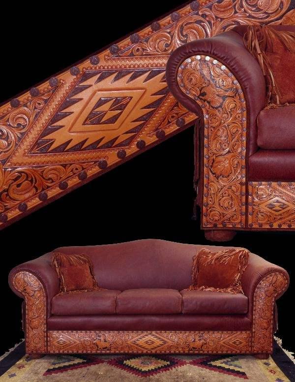 Tucson Sofa Rustic Artistry