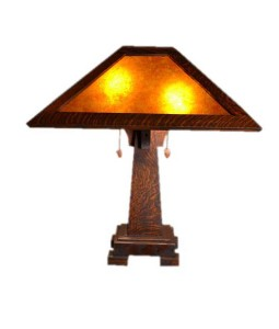 Mission Craftsman Table Lamp | Holland | Rustic Furniture and Decor from RusticArtistry.com