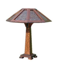 Mission Craftsman Table Lamp | Saugatuck | Rustic Chic Furniture and Decor from RusticArtistry.com