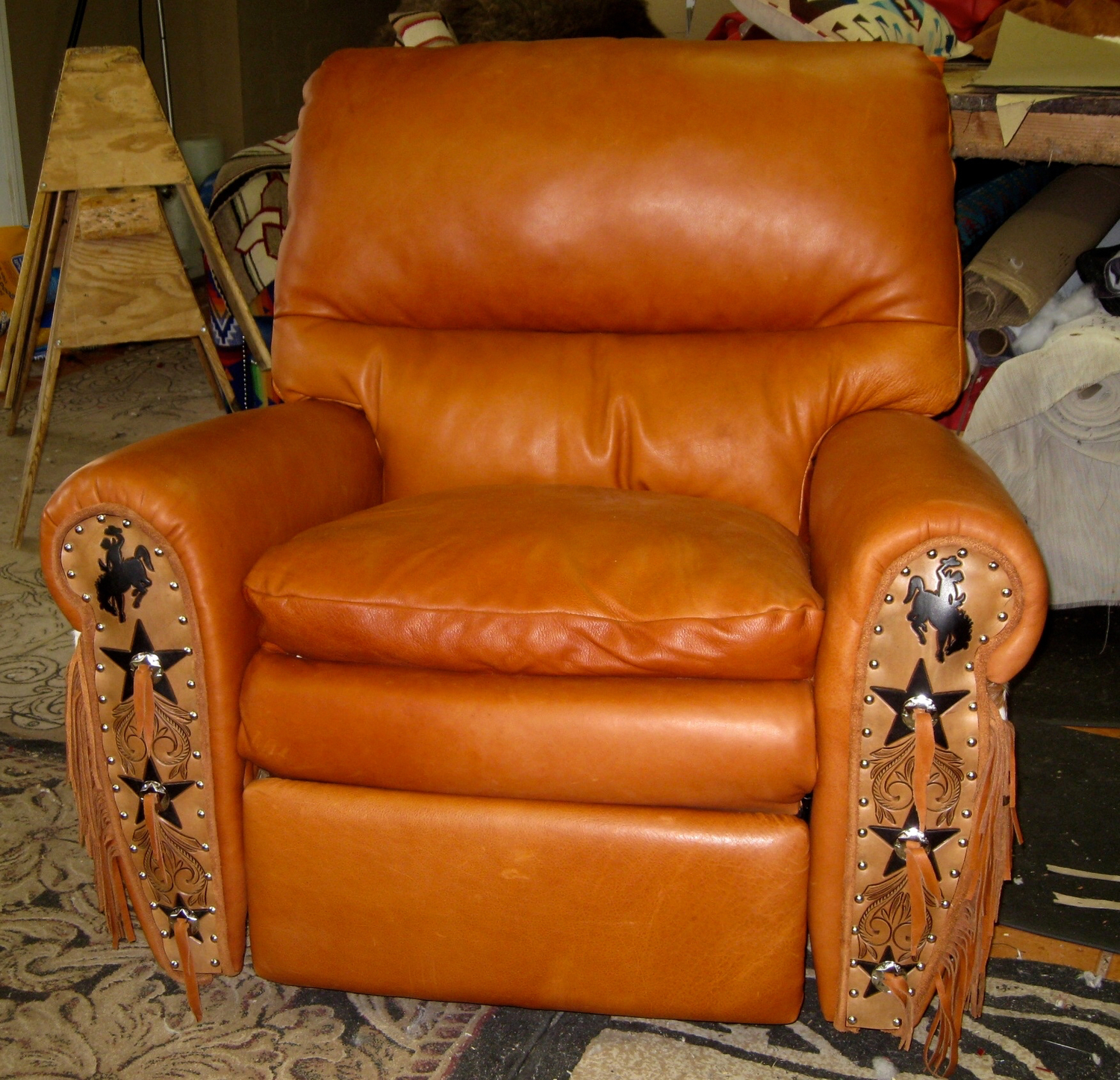 The Ultimate Recliner Leather Amp Cowhide