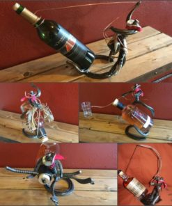 Horse Shoe Cowboy Bottle Holders
