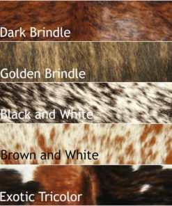 Cowhide Color Swatches