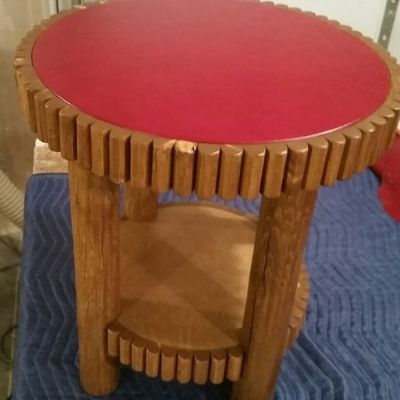 reproduction of Molesworth two tier side table